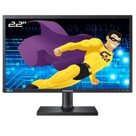 """Ecran 22"""" SAMSUNG SyncMaster S22C450MW LS22C45KMW/EN Wide VESA 16:10 VGA DVI -D"""