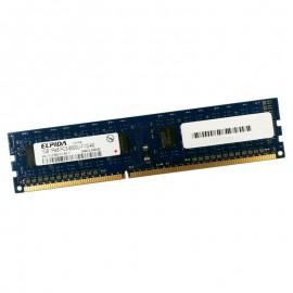 1Go RAM PC Bureau ELPIDA EBJ10UE8BDF0-AE-F DIMM DDR3 PC3-8500U 1066MHz 1Rx8 CL7