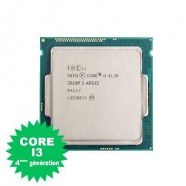 Processeur CPU Intel Core I3-4130 3.4Ghz 3Mo 5GT/s FCLGA1150 Dual Core SR1NP