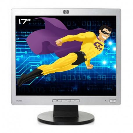 """Ecran PC Pro 17"""" HEWLETT PACKARD L1706 LCD TFT 1x VGA 1280x1024 VESA Widescreen"""