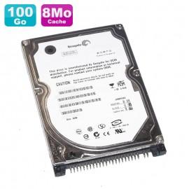 "Disque Dur PC Portable 100Go IDE 2.5"" Seagate Momentus 5400.2 ST9100823A 8Mo"