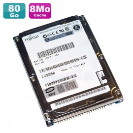 """Disque Dur PC Portable 80Go IDE 2.5"""" Fujitsu Mobile MHT2080AH 5400RPM 8Mo"""