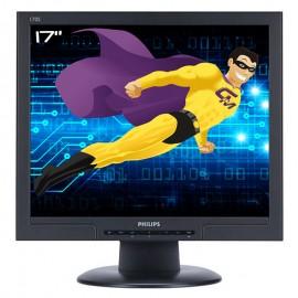"""Ecran Plat 17"""" LCD TFT TN PHILIPS 170S8 HNS8170T VGA DVI 1280x1024 5ms VESA Gris"""