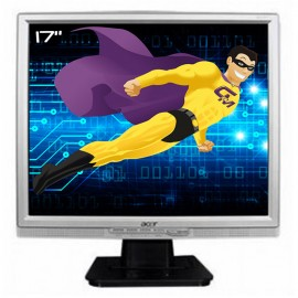 "Ecran PC Pro 17"" ACER AL1707As LCD TFT 1x VGA 1x Audio 1280x1024 VESA 43cm"