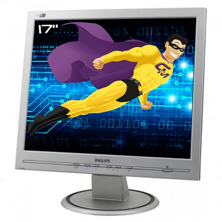 "Ecran PC Pro 17"" PHILIPS 170S6FS LCD TFT 1x VGA 1280x1024 60Hz VESA Widescreen"
