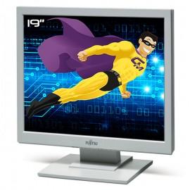"""Ecran PC Pro 19"""" Fujitsu A19-5 S26361-K1339-V140 LCD TFT VGA Audio VESA 48cm"""