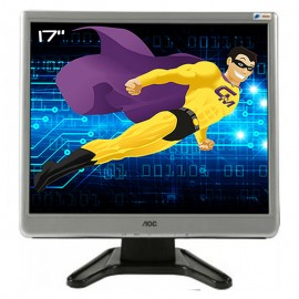 "Ecran PC Pro 17"" AOC 177Sa TFT1780PSA+ LCD TFT VGA Audio OUT VESA 43cm 5:4"