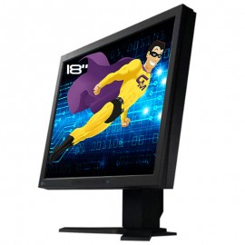 "Ecran Plat 18"" LCD TFT EIZO FlexScan L685 2x DVI Hub 4x USB 1280x1024 VESA Gris"