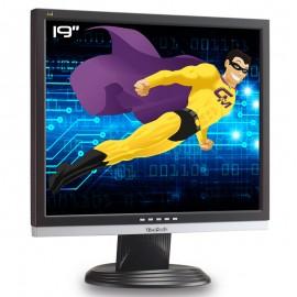 """Ecran PC Pro 19"""" VIEWSONIC VA916g LCD TFT TN VGA DVI VESA 1280x1024 Widescreen"""