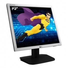 "Ecran Plat PC 19"" LG L1918S-SN Q.AEUTQP LCD TFT TN VGA VESA 1280x1024 48cm"