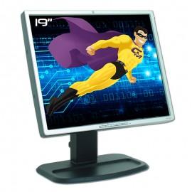 """Ecran Plat PC 19"""" HP L1955 HSTND-2B01 LCD TFT VGA DVI-D 2x USB VESA Widescreen"""