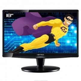 "Ecran Plat PC 18"" HANNSG HZ194APB HSG1085 LCD TFT VGA Audio IN VESA Widescreen"