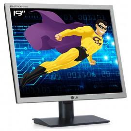 "Ecran Plat PC 19"" LG FLATRON L1919S-SF SFQ-AEUSEP LCD TFT TN VGA VESA 1280x1024"