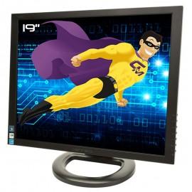 "Ecran Plat PC 19"" HANNSG HX193DPB HSG1257 LCD TFT VGA DVI Audio VESA 1280x1024"