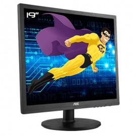 "Ecran Plat PC 19"" AOC E960SRDA 190LM00014 LCD TFT TN VGA DVI VESA 1280x1024 4:3"