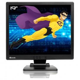 "Ecran Plat PC 19"" IISONIC IIMJ9 LCD TFT VGA Audio IN 1280x1024 5:4 48cm 8ms"