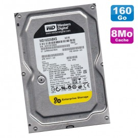 "Disque Dur 160Go SATA 3.5"" WD Enterprise Storage WD1602ABKS-70N8A0 7200RPM 8Mo"