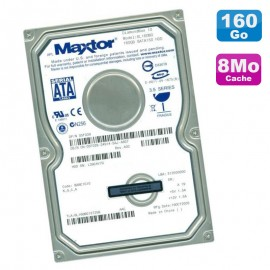 "Disque Dur 160Go SATA 3.5"" Maxtor DiamondMax 10 6L160M0 7200RPM 8Mo"