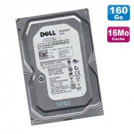 "Disque Dur 160Go SATA 3.5"" WD Certifié DELL WD1601ABYS-18C0A0 FM569 7200RPM 16Mo"