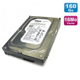 "Disque Dur 160Go SATA 3.5"" WD Certifié DELL WD1601ABYS-18C0A0 X464K 7200RPM 16Mo"
