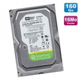 "Disque Dur 160Go SATA II 3.5"" WD GreenPower WD1600AVCS-632DY1 5400RPM 16Mo"
