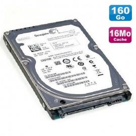 "Disque Dur 160Go SATA 2.5"" Seagate Momentus ST9160412ASG 7200RPM 16Mo PC Portable"