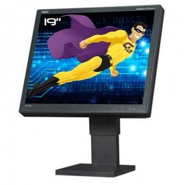 """Ecran PC Pro 19"""" NEC MultiSync LCD1960NXi LCD TFT VGA DVI VESA 1280x1024 5:4"""