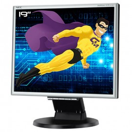 "Ecran PC Pro 19"" NEC MultiSync LCD195VXM+BK1 L194F2 LCD TFT VGA DVI Audio VESA"