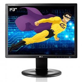 "Ecran PC Pro 19"" LG FLATRON E1910S-BNW.AEUKDPN LCD TFT TN VGA VESA 1280x1024 5:4"