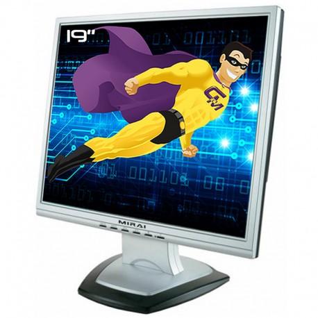"""Ecran PC Pro 19"""" MIRAI DML-519N100 LCD TFT Tn A-Si VGA DVI VESA 1280x1024 5:4"""