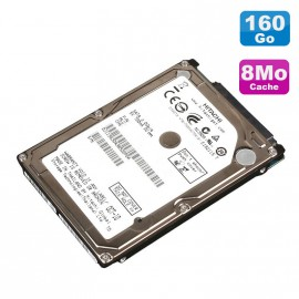 """Disque Dur 160Go SATA 2.5"""" Hitachi HTS541616J9SA00 Pc Portable 8Mo"""