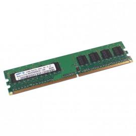 512Mo Ram Barrette Mémoire SAMSUNG M378T6553CZ3-CE6 DDR2 PC2-5300U 667Mhz 1Rx8 CL5