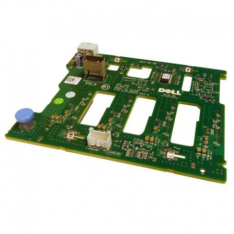 Carte controleur SAS SATA Backplane 1x4 Disque Dur Dell 0N621K PowerEdge T310