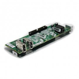Carte Façade Front Panel I/O DELL 0TX868 2x USB Audio OUT Optiplex 320 MT