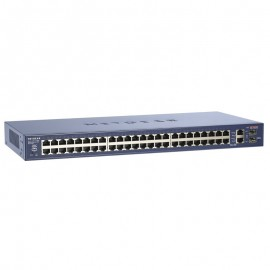 Switch Rack 48 Ports NETGEAR FS750T2 10/100 2x 1000 GIGABIT Fast Ethernet