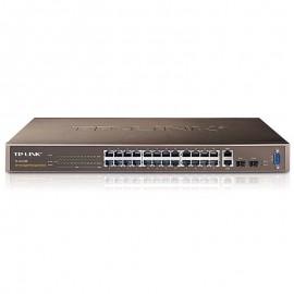 Switch Rack 24 Ports RJ-45 TP-LINK TL-SL3428 10/100/1000 2x SFP GIGABIT SFP