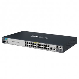 Switch Rack 24 Ports RJ45 HP 2520-24-PoE J9138A 10/100/1000Mbps 2x Combo GIGABIT