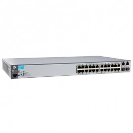 Switch Rack 24+2 Ports RJ-45 HP E2620-24 J9623A 10/100/1000 2x GBIC SFP GIGABIT
