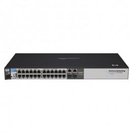 Switch Rack 24+2 Ports RJ-45 HP J9019B 10/100/1000Mbps 2x GBIC SFP GIGABIT