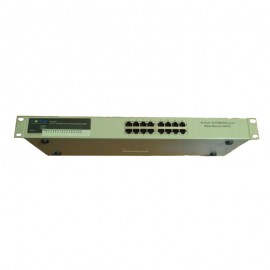 Switch Rack 16 Ports RJ-45 FrontNet AS16002A 10/100Mbps Ethernet