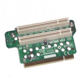 Carte PCI Riser Card Micro-Star MS-6958 VER:2 2x PCI
