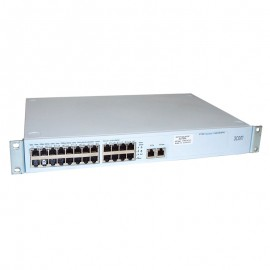 Switch Rack 24+2 Ports RJ-45 3COM 3C17300A 24x 10/100Mbps 2x 10/100/1000Mbps