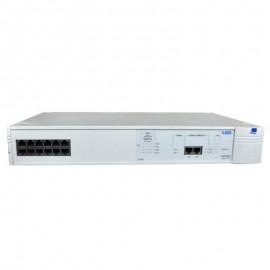 Switch Rack 12 Ports R-J45 3COM 3C16951 1100 200Mbps 10Base-T RS-232C 9-Pin