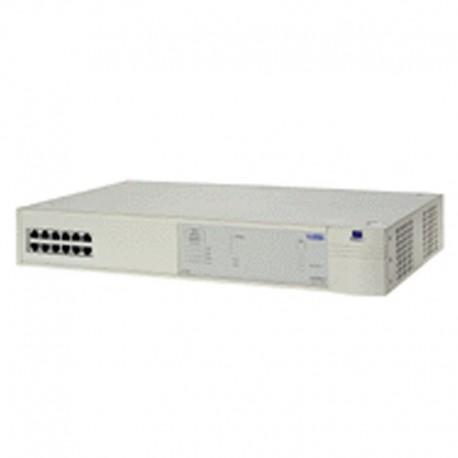 Switch Rack 12 Ports R-J45 3COM 3C16981 SuperStack II 3300 10/100Mbps RS-232C