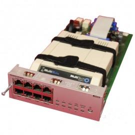Module Rack Switch MODB Alcatel 3EU23010ABAB 8x RJ-45 3x AMP Modem OmniPCX
