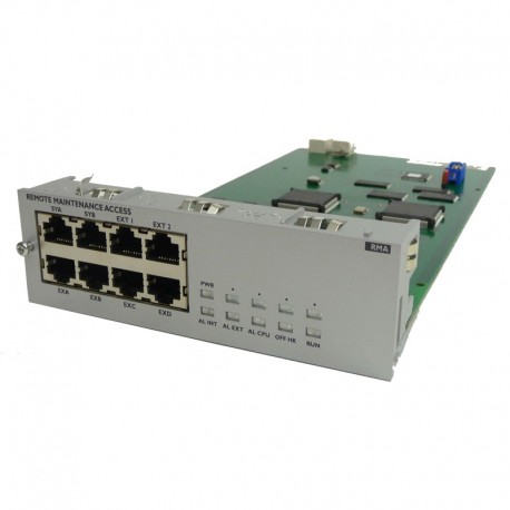 Module Rack Switch RMA Alcatel Lucent 3EU23009AAAB 8x RJ-45 2x AMP OmniPCX