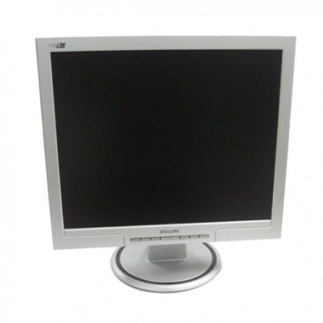 "Ecran Plat 17"" PHILIPS 170S7 VGA 1280 x 1024 60Hz 8ms Mat LCD TFT Inclinable"
