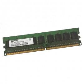 1Go RAM PC Bureau ELPIDA EBE10EE8ACWA-8G-E 240-Pin DDR2 PC2-6400U ECC 800Mhz CL6