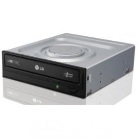 Graveur DVD Interne LG GH24NSB0 Super Multi DL SATA - CD-R/RW DVD±R/RW DL - Noir
