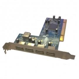 Carte Adaptateur 3+1 Ports USB BELKIN F5U220-NN PCI REV:3 N10117